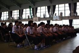 陽 中学校 球 SSH